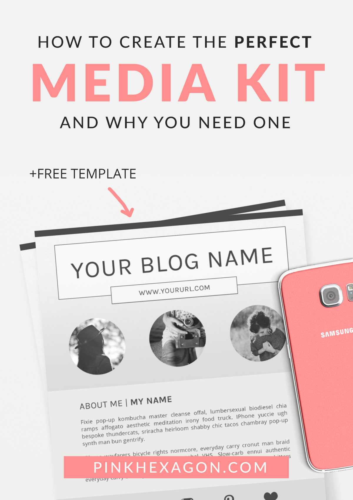 How and why to create a media kit for your blog free template how to create the perfect media kit and why you need one pronofoot35fo Images