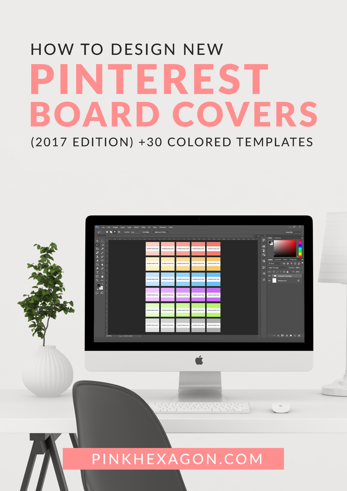 How to Design New Pinterest Board Covers 2017 Edition